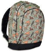 China Silver Horses Backpack on sale