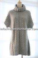 Reliance Lambswool/Acrylic Turtle Neck Pullover/Women's Sweater