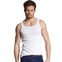 Hugo Boss Mens Casual Tank Top Orange Small