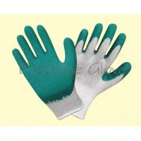 China latex coat safety working gloves BTML1207-1212 for sale