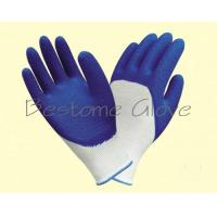 China polyester/nylon latex wrinkle work gloves BTML1507-1512 for sale