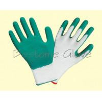 China polyester/nylon wrinkle latex coat gloves BTML1501-1506 for sale