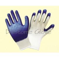 China latex smooth coat safety work gloves BTML1401-1406 for sale