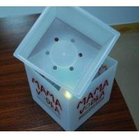 Wholesale Wholesale / custom small standing engraved insulated acrylic whisky led ice bucket from china suppliers