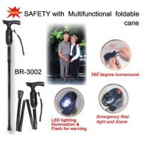 Wholesale SAFETY with Multifunctional foldable cane -- BR-3002 from china suppliers