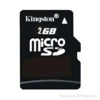 Wholesale Kingston MicroSD Card 2GB from china suppliers