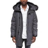 China Rag & Bone Mixed Media Parka With Fur-Trimmed Hood Charcoal Men Apparel Coats & Jackets on sale