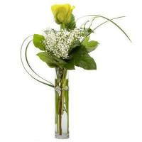 Buy cheap Single Yellow Rose Bouquet from wholesalers