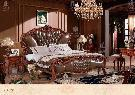 Buy cheap Bedroom 910Bed pure color from wholesalers