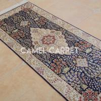 Buy cheap S1065A Hand Knotted Silk 2x6 Runner from wholesalers