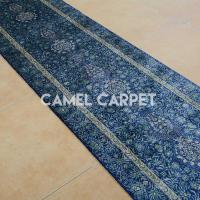 Buy cheap Y0836A Hand Made Turkish Navy Blue Runner from wholesalers