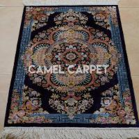 Wholesale L1930A Traditional Loom Knotted Blue Tribal Rug from china suppliers