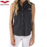 Buy cheap 100% Cotton Sleeveless Shirt for Women from wholesalers