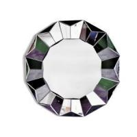 Buy cheap Round Silver Three Dimensional Wall Mirror from wholesalers