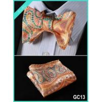 Wholesale 100% Silk Jacquard Bow Tie Square from china suppliers