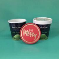 Wholesale Paper Ice Cream Cups With Dome Lids from china suppliers