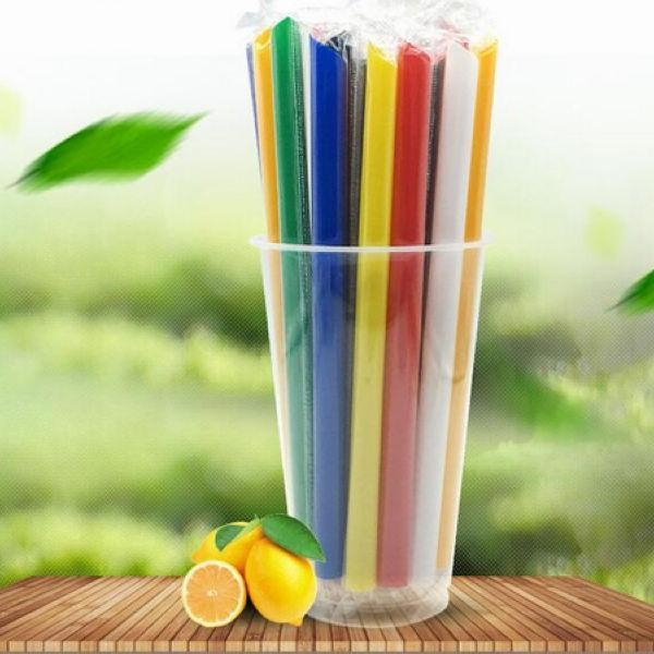 Quality Eco-friendly Biodegradable Plastic Drinking PLA Straws for sale