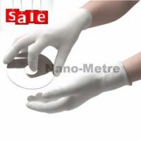 NMSAFETY nylon and poliester liner coated pu electron glove for sale