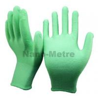 NMSAFETY safety green garden gaomi pu glove for working for sale
