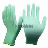Nylon/Polyester PU Glove for sale