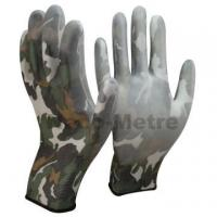 China NMSAFETY 3121X camo printed liner pu coated gloves for sale