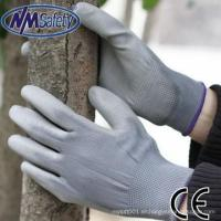 NMSAFETY hardware use silicone free PU working gloves for sale