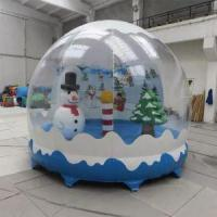 Wholesale Inflatable Christmas Snow Globe from china suppliers
