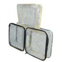 Buy cheap PVC Wire Zipper Bag from wholesalers