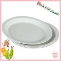 Buy cheap Withe biodegradable plates from wholesalers