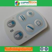Wholesale Medical Device Laser Etching Backligt SIlicone Rubber Keypad from china suppliers