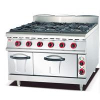 Buy cheap Gas Range with 6 Burner and Electric Oven 900 from wholesalers