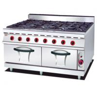 Buy cheap Gas Range with 8 Burner and Gas Oven 900 from wholesalers