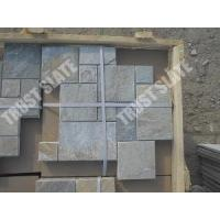 Wholesale Golden White Quartzite French Pattern Paver Stone from china suppliers