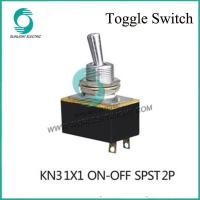 China KN3-1X2(KN3-2) 2A 250VAC ON-OFF SPDT 4P medium toggle switch Toggle Switch on sale