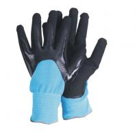 China Nylon Dipped Nitrile Gloves for sale