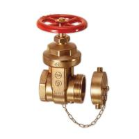 Wholesale BRONZE FIRE HOST VALVE BRASS GATE VALVE 2-1/2 A53 from china suppliers