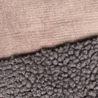 China Super Soft Sherpa Suede Fabric on sale