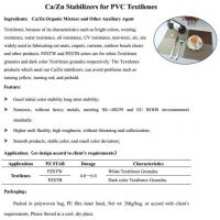 Wholesale Ca/Zn Stabilizers for PVC Textilenes from china suppliers