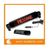 Remote programmable led car rear window display(LLDT460-D750)