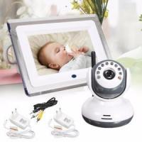 China 4 Channels 7inch Recordable Baby Monitor Sound Amplifier on sale