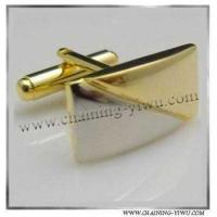cuff link gold-plated