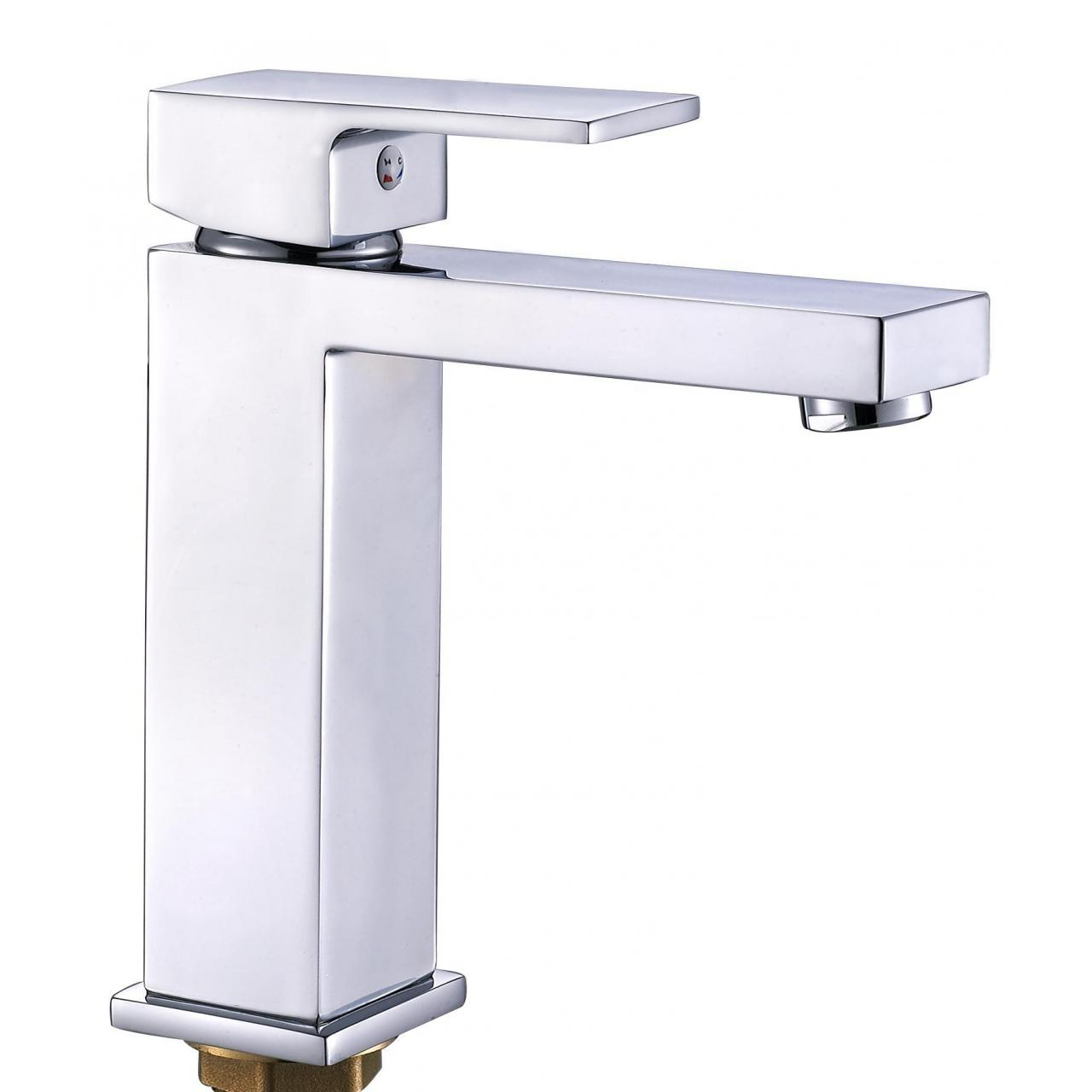 Wholesale Sanitary Ware Bathroom tap flat single handle plating chrome sanitary ware faucet AF-12501 from china suppliers