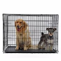 Pet Cage Pet Dog Cage Crate Double-Door
