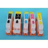 China Refillable inkjet cartridge for PGI-5BK,CLI-8B/Y/M/C(IP4200/IP4300/IP5200/IP5300,MP500/MP530/MP800) on sale