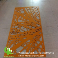 Wholesale PVDF Tree design Decorative perforated sheet metal panels privacy screen decoration from china suppliers