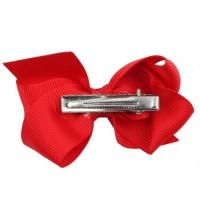 China Girls Bow Tie Colors Hairpin Headwear Bowknot Hair Clip Barrette Accessories on sale