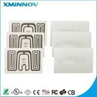 China Bank Check Management UHF RFID Inspection Sticker Label on sale