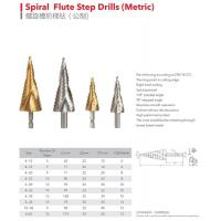 Buy cheap Spiral Flute Step Drills (Metric) from wholesalers