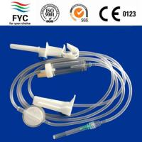Buy cheap Disposable infusion set with precision filter from wholesalers
