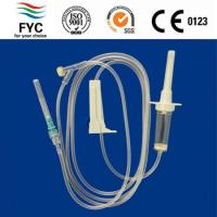 Buy cheap 150cm tube with needle Package Blister packing from wholesalers